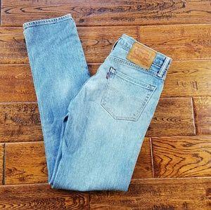 <levis> vintage cone denim high waist jeans